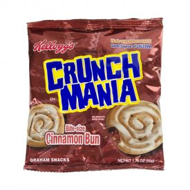 Kellogg's Cracker Brand Crunch Mania Cinnamon Bun 1.76oz.