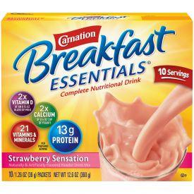 Carnation Breakfast Essentials Strawberry Sensation 1.26oz.