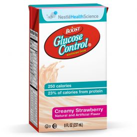 Nestle Boost Glucose Control RTD Strawberry Beverage 8oz.