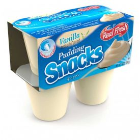Real Fresh Vanilla Pudding 14oz.
