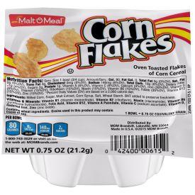 Malt O Meal Corn Flakes Cereal Bowls .75oz.