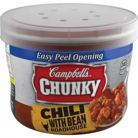 Campbell's Chunky Chili with Beans, Beef Bowl - 15.25 oz