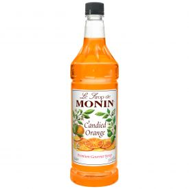 Monin CANDIED ORANGE Syrup - 33.8oz