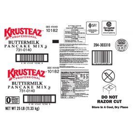 Krusteaz Buttermilk Pancake Mix 25lb.