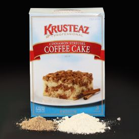 Krusteaz Professional Cinnamon Streusel Coffee Cake Mix 7lb.