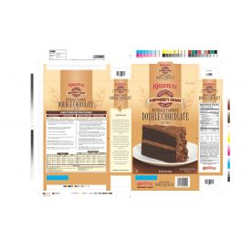 Krusteaz Shepherd's Grain Double Chocolate Cake Mix 5lb.