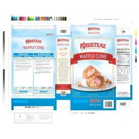 Krusteaz Professional Waffle Cone Mix 5lb.