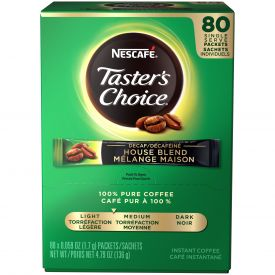 Nescafe Taster's Choice House Blend Instant Decaf Packets 0.59oz.