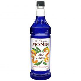 Monin Blue Curacao Syrup - 33.8oz