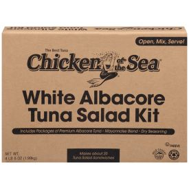 Chicken Of The Sea Albacore Tuna Salad Kit With Mayo 70oz.