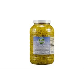 Bay Valley Mild Banana Pepper Rings 128oz.
