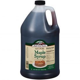 Maple Grove Grade A Amber Rich Syrup 128oz.