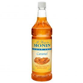 Monin Sugar-Free Caramel Syrup - 33.8oz