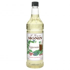 Monin Peppermint Syrup - 33.8oz