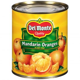 Del Monte Mandarin Oranges In Light Syrup 29oz.