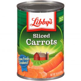 Libby's Medium Sliced Carrots - 14.5oz