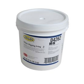 J W Allen® White Dipping Icing 23lb.
