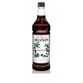 Monin Blueberry Syrup 33.8oz.