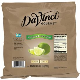 DaVinci Gourmet Sweetened Lime Mixer 23oz.
