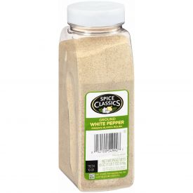 Spice Classics Ground White Pepper - 18oz