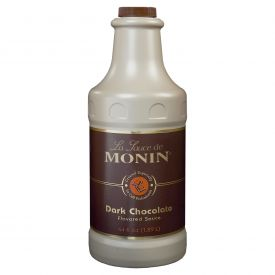 Monin Dark Chocolate Sauce - 64oz