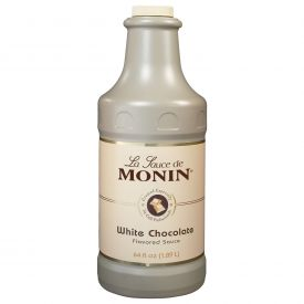 Monin White Chocolate Sauce - 64oz