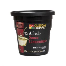 Custom Culinary Master's Touch Alfredo Sauce Concentrate