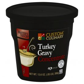 Custom Culinary Masters Touch Turkey Gravy Concentrate 13.6oz