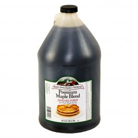 Maple Grove 25% Blend Maple Syrup 128oz.