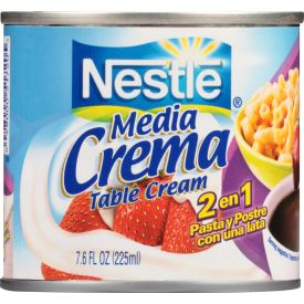 Nestle Media Crema Milk Creamer 7.6oz.