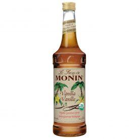 Monin - Organic Vanilla Syrup - 25.4oz