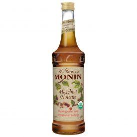 Monin Organic Hazelnut Syrup - 25.4oz.