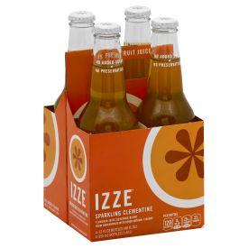 Izze Sparkling Clementine Juice 12oz.