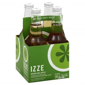 Izze Sparkling Apple Juice 12oz.