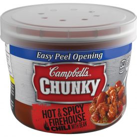 Campbell's Chunky Firehouse Hot & Spicy Chili w/ Beans, 15.25 oz