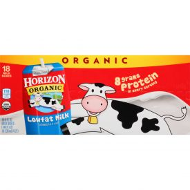Horizon Organic Aseptic Reduced Fat Milk 8oz.