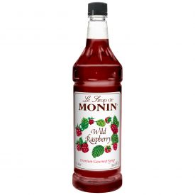 Monin Raspberry Flavored Syrup - 33.8oz