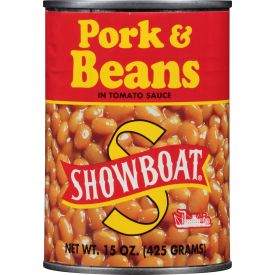 Showboat Pork and Bean - 15oz