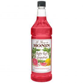 Monin Ruby Red Grapefruit Syrup - 33.8oz