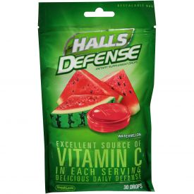 Halls Defense Watermelon Drops 30ct