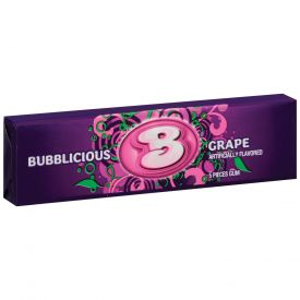 Bubblicious Gonzo Grape Gum - 144ct