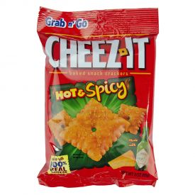 Cheez-It Hot & Spicy Crackers - 3oz
