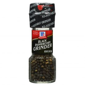 McCormick Black Peppercorn Grinder - 1.24oz