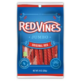 Red Vines Red Jumbo Original Twists - 8oz
