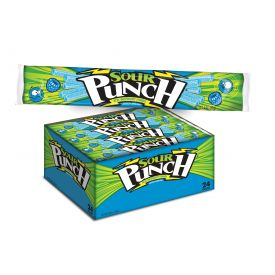 Sour Punch Blue Raspberry Straws - 2oz