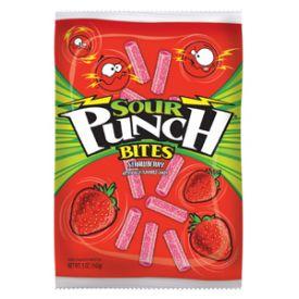 Sour Punch Strawberry Bites - 5oz
