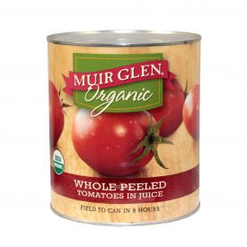 Muir Glen Organic Whole Peeled Tomatoes - 102oz