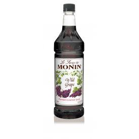 Monin Wild Grape Syrup 33.8oz.