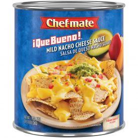 Chef-Mate Que Bueno Mild Nacho Cheese Sauce - 106oz