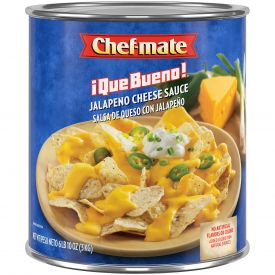 Chef-Mate Que Bueno Jalapeno Cheese Sauce - 106oz